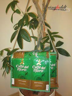eingfadelt: Coffebag-Umhängetasche