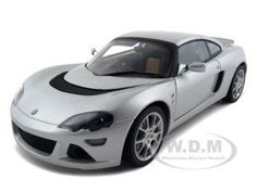 (Limited Supply) Click Image Above: Lotus Europa S Diecast Car Model 1/18 Silver Die Cast Car By Autoart