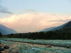 Of a river, pines and the Himalayas.