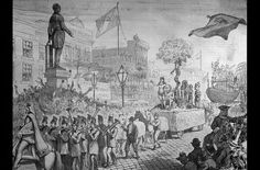 On Mardi Gras of 1857, the Mystick Krewe of Comus held its first parade