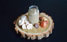 À 10 mois, on peut donner des champignons de Paris à bébé, alors on lui prépare une recette de purée de champignons, pommes de terre et canard !