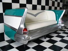 i would like to go in a retro diner and sit in that booth