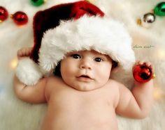 Baby photo Christmas