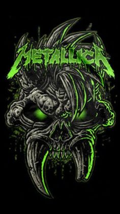 For everything Metallica check out Iomoio Metallica Tattoo, Metallica Art, Heavy Metal Rock, Heavy Metal Music, Heavy Metal Bands, Hard Rock, Skull Artwork, Metal Artwork, Rock Posters