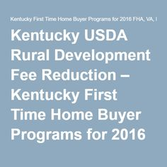 Fha Loan Programs For Non First Time Home Buyers