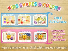 Kids Shapes & Colors Preschool – miniaturka zrzutu ekranu