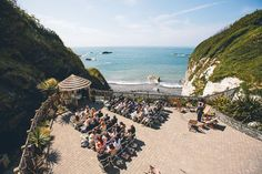 Tunnels Beaches Wedding Photography outdoor uk wedding venue