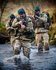 The Royal Marine Commandos
