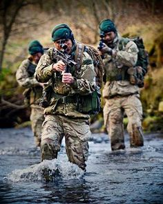 The Royal Marine Commandos