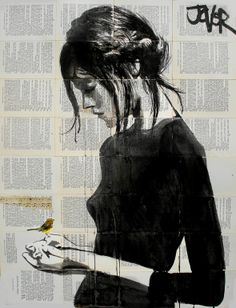 "Saatchi Art Artist: Loui Jover; Pen and Ink 2013 Drawing ""peace (SOLD)"""