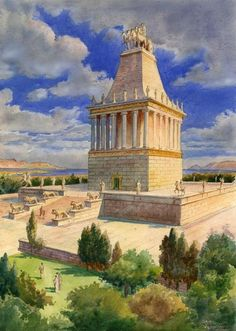 Mausoleum at Halicarnassus - Old 7 Wonders of the World