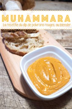 Recette | Le muhammara, le délicieux dip de poivrons | By Elle Mixe - Blog Grenade, Cantaloupe, Peanut Butter, Fruit, Blog, Party, New Recipes, Food, Blogging