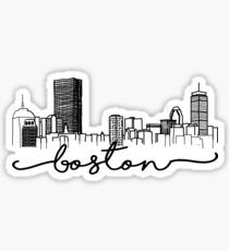 High quality Boston gifts and merchandise. Inspired designs on t-shirts, posters, stickers, home decor, and more by independent artists and designers from around the world. Dont Poke The Bear, Boston Tattoo, Skyline Painting, Boston Skyline, Black And White Stickers, Skyline Silhouette, Tumblr Stickers, Quirky Home Decor, Computer Wallpaper