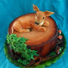 Tort z sarenką :)