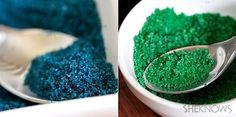 How to make edible glitter
