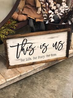 Wood Pallets This Is Us Rustic Farmhouse Wood Sign This is us Sign Farmhouse Living Room Furniture, Rustic Furniture, Outdoor Furniture, Modern Furniture, Antique Furniture, Kitchen Furniture, Inexpensive Furniture, Classic Furniture, Dining Rooms