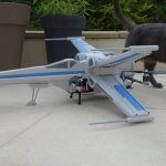 Insanely cool X-Wing drone made from foam