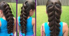 Braiding hair IS an Art! And Kerry Lane  is one of the best and most creative braiding artists in the world! Watch below the video tut...