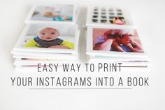 I can't wait to try Chatbooks - a new way to easily print your entire Instagram feed. I love that you can sign up for autoship and they'll automatically send you a book once you've reached 60 or more photos!