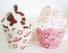 Pink and Western Wrappers by outsidetheboxdessert on Etsy