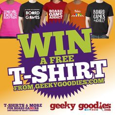#ContestAlert Win a free T-Shirt, size and design of winners choice! Contest ends Nov 11, 2016. Open World Wide.   >>> ENTER HERE:   http://thegiveawaygeek.com/t-shirt-giveaway-by-geeky-goodies/