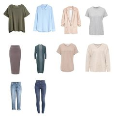 Базовый гардероб by nadezhda-statova on Polyvore featuring мода and Lamoda
