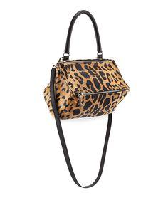 Givenchy Pandora Small Leopard-Print Satchel Bag f2baf0b9bf9b9