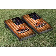 Victory Tailgate Bucknell Bison Cornhole Game Set - 905613