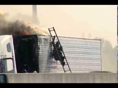 Firefighter Trying To Fight The Truck Fire Fail - #funny #fail