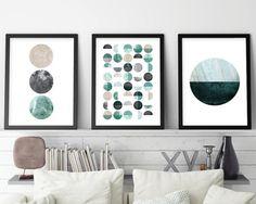 Set of 3 Prints Print Set Scandinavian by UrbanEpiphanyPrints