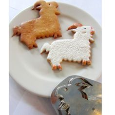 New Arrival Cookie Cutters - Hammer Song Ram Beau the Goat Tin Cookie Cutter