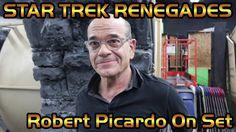 Robert Picardo On Set - Star Trek Renegades Robert Picardo, Star Trek Universe, Star Trek Voyager, He Day, Big Star, On Set, Movie Tv, Official Trailer, Stars