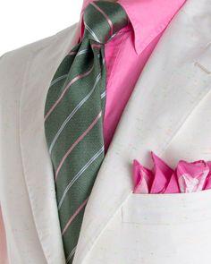 Andrea Campagna   White Cotton Sportcoat   Apparel   Men's