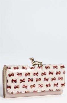 Ted Baker London 'Union Jack - Dog Bobble' Matinee Wallet available at #Nordstrom