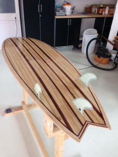 Hollow Wood Surfboard Supply frame kit designed by Brad Tucker from Wood…