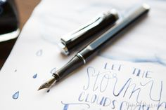 Love this pen! The Monteverde Limonada Milano Black and Platinum Blue-Black ink look great together.