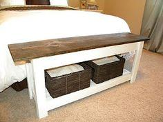 Diy Bedroom Bench diy friday: custom bench in a million styles | ottomans, no sew