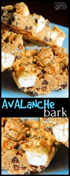 These avalanche bark bars are the best no-bake summer treat. They are so simple and you don't have to heat up your house to make them! Peanut butter, chocolate chips, and crunchy rice cereal .. what's not to love?!