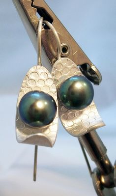 pearl earrings (1) by k.webb, via Flickr