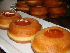Szalagos fánk :: Ami a konyhámból kikerül Hungarian Recipes, Doughnut, Donuts, Pancakes, Breakfast, Foods, News, Frost Donuts, Morning Coffee