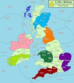 Celtic Tribes the Brigantes | The map for the Celtic Britain Variant