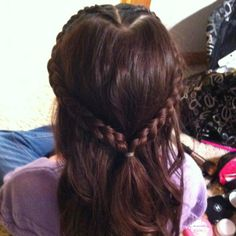 Heart Shape Braid!