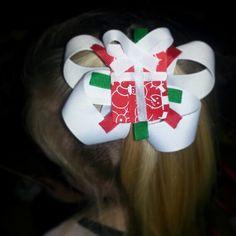#HairBow #Christmas #Present