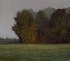 Near McMinnville, Oregon, Marc Bohne. 6 x 7, oil on panel