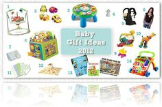 Baby Gift Ideas for Christmas or holidays