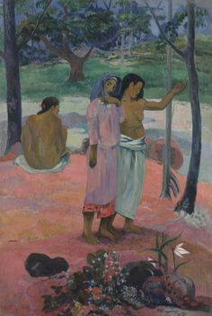 ART OF THE DAY: The Call, 1902. Paul Gauguin (French, 1848-1903). See it at the CMA!