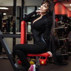 Women sporting fitness jumpsuit zipper turtleneck casual bodysuit 167928b4a