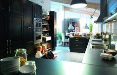 ramsjo kitchen | IKEA RAMSJO Kitchen Cabinets Black-Brown 2011 AKURUM FAKTUM