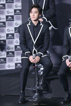 [HQ] 140525 Baekhyun @ #LOSTPLANETinSEOUL Press Conference (cr.coco pam) pic.twitter.com/clrWiO9rOo