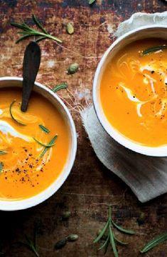 Roasted pumpkin & carrot soup -- Low FODMAP Recipe and Gluten Free Recipe #lowfodmaprecipe #glutenfreerecipe #lowfodmap #glutenfree http://www.ibs-health.com/low_fodmap_roatsed_pumpkin_carrot_soup121.html